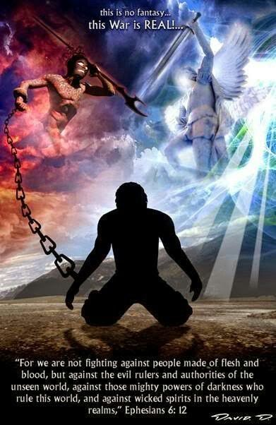 All About Spiritual Warfare