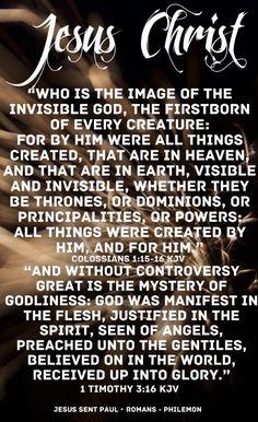 God and Jesus: The Same?