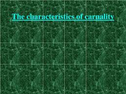 What is Carnality
