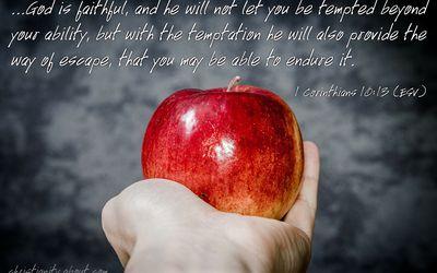 Growing Through Temptation - Resisting Temptation