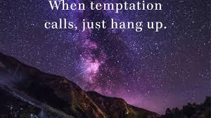 Growing Through Temptaion - Resisting Temptation