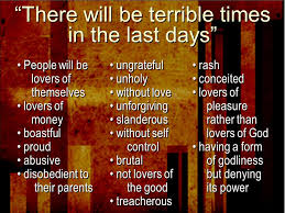 The Coming Apostasy -