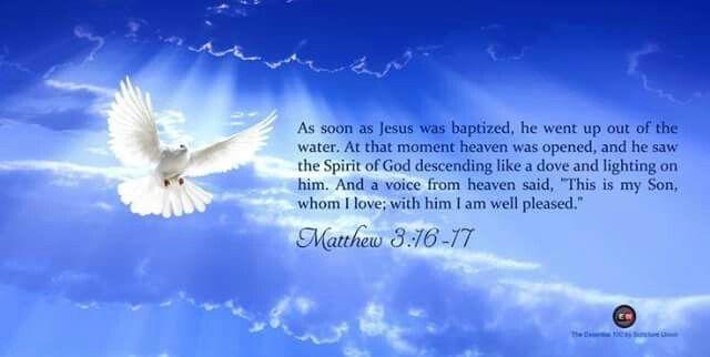All about Baptism - Jesus' Baptism