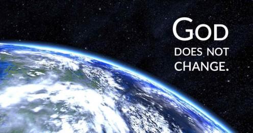 When Did God Change - The Unchangable God