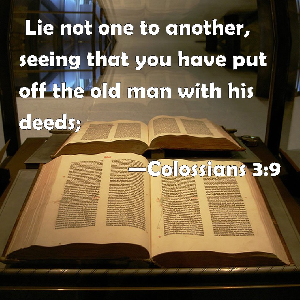 When did God Change? Do not LieD