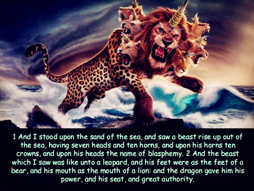 666 Mark of the Beast - Revelation 13:1