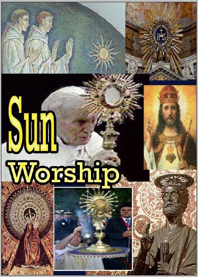666 Mark of the Beast - Sun Worship