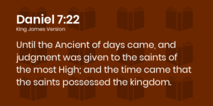 What is the Antichrist - Daniel 7:22