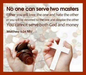 What is Double Minded About? - No man cann serve two masters